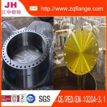 Brides d'articulation en acier au carbone BS4504 Pn25 / A105