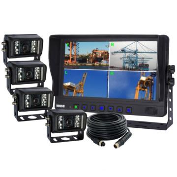 Port Crane Quad Wired Reversing Backup IR Camera System