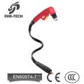 p80 refroidi à l'air cnc plasma coupe torche 1 / 8G 1 / 4G