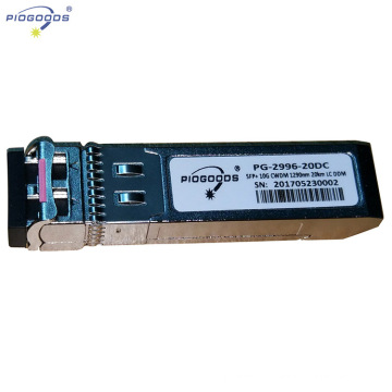 Modules de fibre optique 10G SFP + émetteur-récepteur de fibre optique 10G