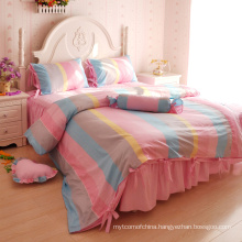 Chinese traditional style stripe bed sheet