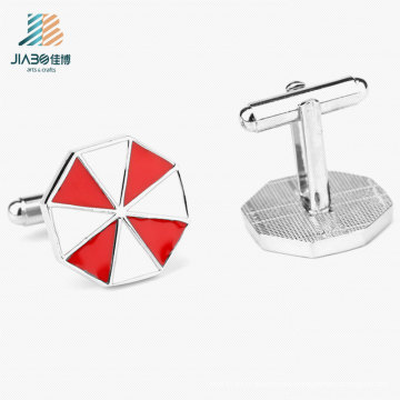 Custom Factary Wholesale Casting Enamel Cufflink for Men′s Shirt