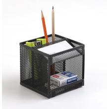 Офисный сетчатый металлический стол-органайзер