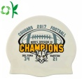 Printed Silicone Funny Swim Cap for Adult Wholesale