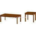 office furniture china I shape mdf wooden coffee table set