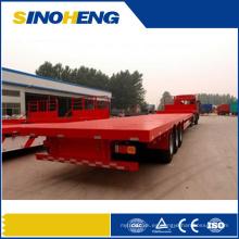 Remolque plano del camión de la fuente del fabricante de China semi con precio bajo