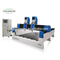 Best price 1224 Stone Engraving Machine with double -head For Marble Granite