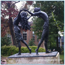 Escultura de Bronze Dancing Couple para venda