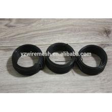 Cable recocido negro suave / alambre negro de la pequeña bobina