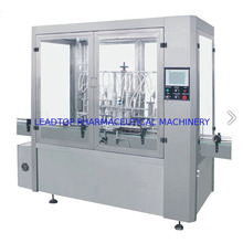 Máquina de llenado de botellas de vidrio líquido Máquina de lavar botellas de aire comprimido