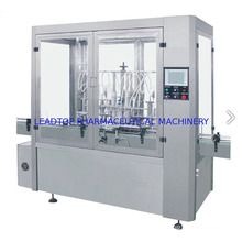 Automatic Liquid Bottling and Labeling Machine