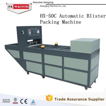Machine à emballer continue de carte de boursouflure de HX-50C pour la carte de mémoire / USB / Lipstic