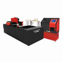 Metal Pipe and Sheet Fiber Laser Cutting Machine, Multifunction for Cutting Metal Sheet and Tube