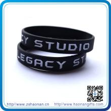 Bracelets en silicone de vente de cadeau de la publicité de vente chaude / bracelets produits promotionnels