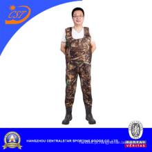 Terno de neoprene de homens de camuflagem 8898bc