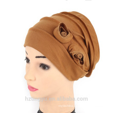 indian styles fashion muslim prayer cap women double floral cap
