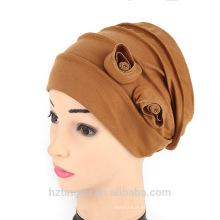 estilos indianos moda muçulmano oração cap mulheres duplo floral cap