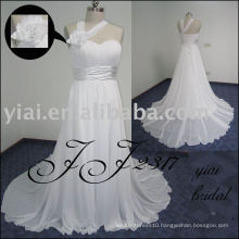 2011 newest arrival low price free shipping high quality Real chiffon bridal dress JJ2317