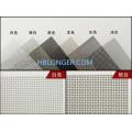 Malla de alambre de aluminio pantalla de ventana de aluminio