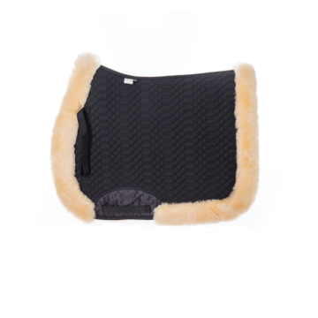 100% Australia High Quality Sheepskin Quilt Saddle Pad