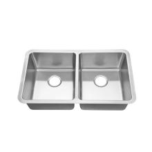 Küchenspüle Doppelschüssel Edelstahl