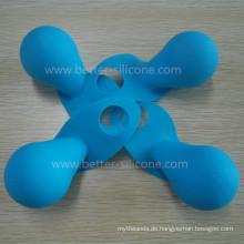 Heißer Verkauf Kundenspezifische LED-Gummi-Birnen-Kappe