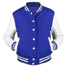 Kundenspezifische Männer Baumwoll-Kapuzenpulli-Baseball-Varsity-Jacke in verschiedenen Farben
