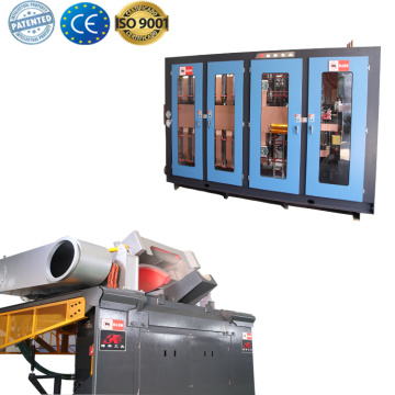 Buen horno de fundición de hierro horno de fusión por inducción