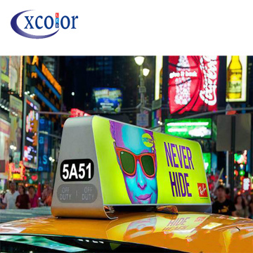 P5 Taxi Top LED Display Draadloze afstandsbediening