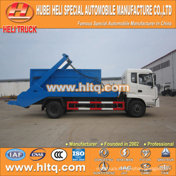 DONGFENG 4x2 10m3 city garbage truck recycling type 190hp hot sale