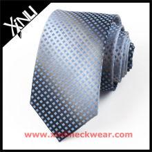 Cravates en soie 100% soie à rayures vertes pour hommes