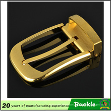 Huahui Factory Direct Sale Personalized Pin Buckles Make Metal Gold Color Belt Buckle
