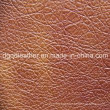 Irregular Grain Furniture Leather (QDL-52070)