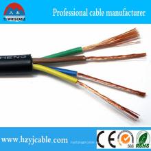 Cable de cobre puro de alta calidad de la envoltura del PVC