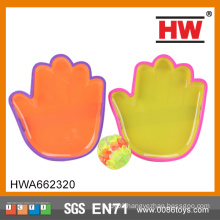 High Quality Kids Plastic Hand Shape Sticky Ball Game