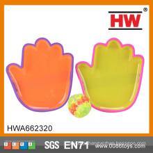 Игра Высокое качество детей пластиковые формы рук липкие игры мяч