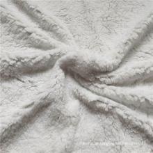 Sherpa Fleece Stoff aus 100% Polyester Baumwolle