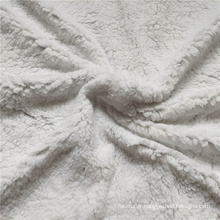 Tissu polaire Sherpa 100% coton polyester