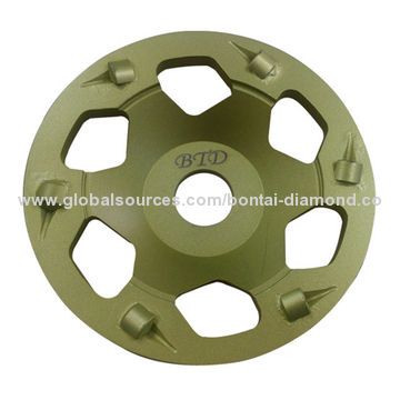 PCD Concrete grinding disc for coating removal