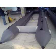 8m Grey Large Inflatable Rescue Boat