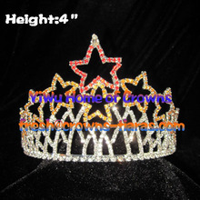 4inch Star Rhinestone Pageant Crowns