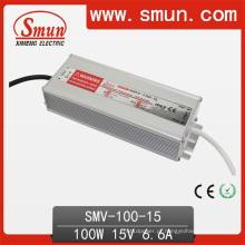 Smun Waterproof o motorista do diodo emissor de luz de 100W 15V com 3 anos de garantia