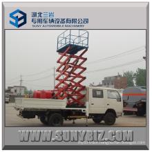 10m Aerial Work Platform 4X2 Hydraulic Lifter Truck