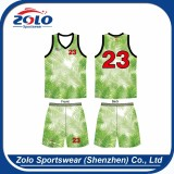 Popular and the newest custom sublimation basketball uniforms