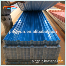 China lowcost 3-layers Heating Insulation clear and hard upvc plastic roofing sheet for sale with any size