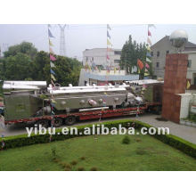 Rectilinear Vibrating-Fluidized Dryer for fruit drying machine