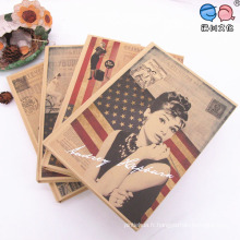 Factory Sell Audrey Hepburn Cover A4 Notebook
