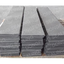 Non asbestos oil-resistant sheet for gasket material