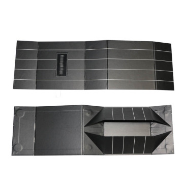Luxury Paper Black Folding Paper with LOGO