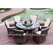 Luxury Durable Easy Cleaning dinner table and chairs